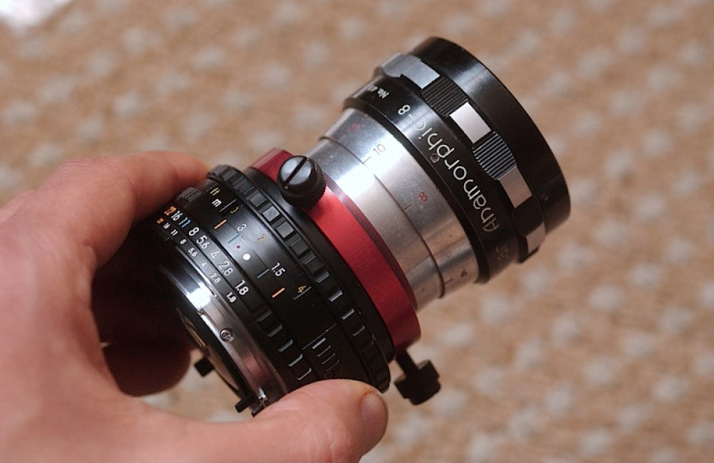 custom small anamorphic adapter moller 1.5 3