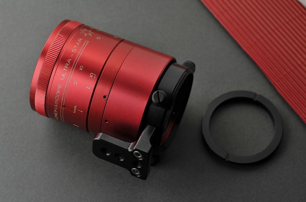 isco ultrastar anamorphic lens 2 part adapter 7
